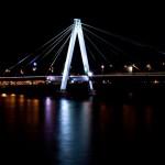 Kölner Rhein bei Nacht